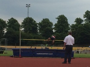 Arm high jump (2) Reading 31st May 2014