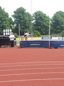 Callum high jump Reading 31st May 2014