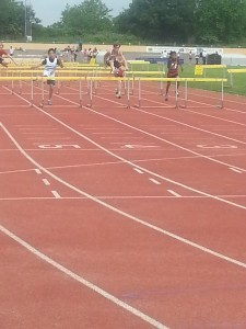 Liam Hurdles Reading 31st May 2014