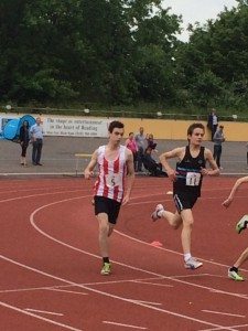 Patrick W 1500m Reading 31st May 2014