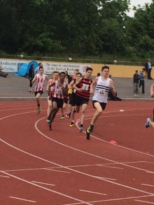Zak & Patrick W 1500m Reading 31st May 2014