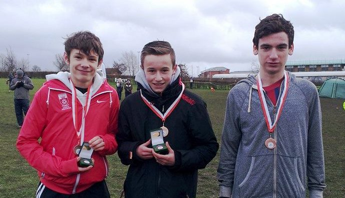 U15 boys hants league medals