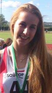 U17 800m & 1500m Silver Medalist - Anna Sharp