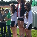 Abbie 3rd 300m Hampshire championships 2014
