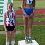 Poppy 2nd 1500m Hampshire championships 2014