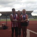 Riz & Ellie with 6th place Trophy