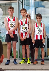 u13 boys hants relay 2016